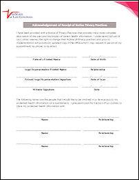 HIPPA Form