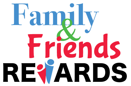 Referral Family and Friends Rewards