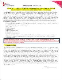 Disclosure & Consent Form
